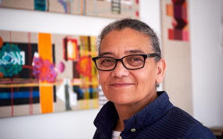 Lubaina Himid win Turner Prize 2017 [photo: Denise Swanson]